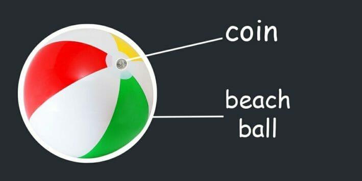 Beach Ball Critical Faculty Hypnosis